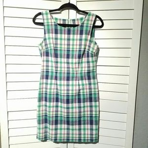 BROOKS BROTHERS Plaid Cotton Dress, size 4